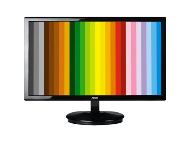 """AOC E943FWSK Black 18.5"""" 5ms LED Backlight LCD Monitor"""