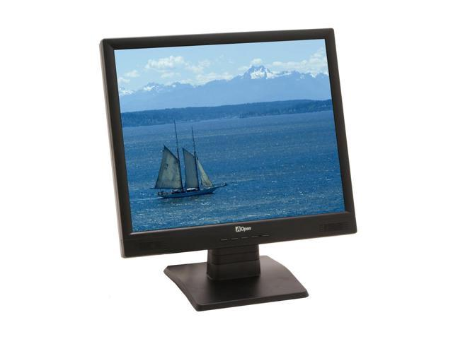 "AOpen F90ES Black 19"" 12ms LCD Monitor Built-in Speakers"