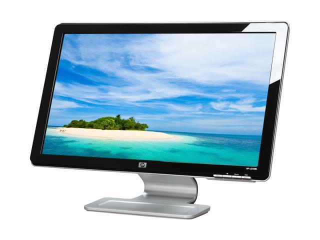 """HP w2338h Black 23"""" 5ms Widescreen LCD Monitor Built-in Speakers"""