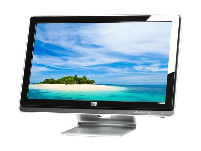 "HP 2009m Black 20"" 5ms Widescreen LCD Monitor Built-in Speakers"