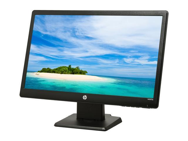 "HP W2072a Black 20"" 5ms Widescreen LED Backlight LED-Backlit LCD Monitor 1 year warranty Built-in Speakers"