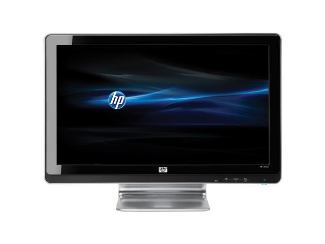 "HP Black 20"" 5ms LCD Monitor Built-in Speakers"