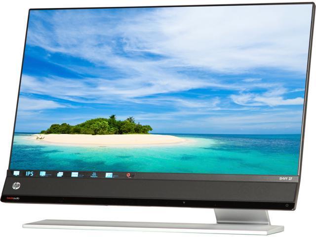 "HP NV27 Envy 27 Black 27"" 7ms Widescreen LED Backlight LCD Monitor, IPS Panel Built-in Speakers"