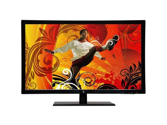 "V7 LED215W2-8N Black 21.5"" 5ms Widescreen LED Backlight LCD Monitor"