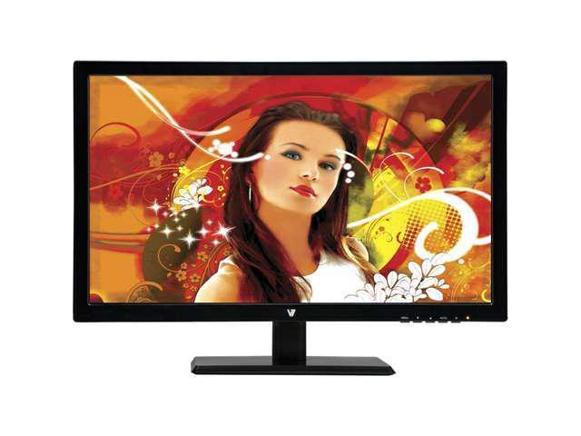 "V7 Black 18.5"" 5ms LED Backlight LCD Monitor"