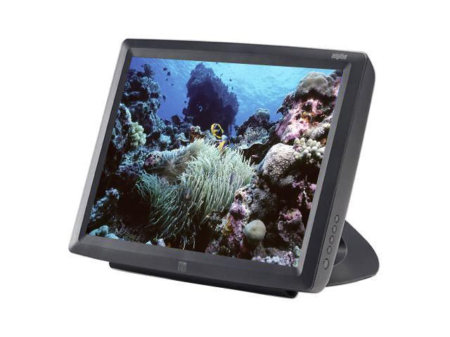 "ELO TOUCHSYSTEMS 1529L(E659634) Dark gray 15"" USB 5-wire Resistive Touchscreen Monitor Built-in Speakers"