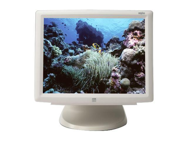 "ELO TOUCHSYSTEMS 1529L(E785333) Beige 15"" Serial/USB (no hub) 5-wire Resistive Touchscreen Monitor"