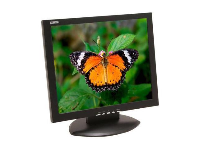 "X2GEN MG19MY Black 19"" 12ms LCD Monitor Built-in Speakers"