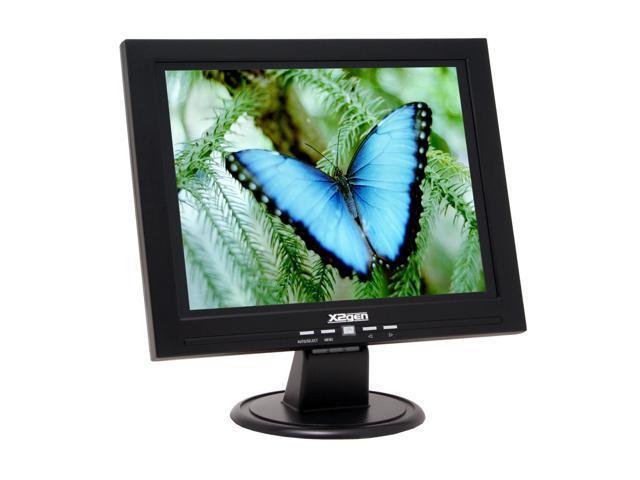 "X2GEN MG5R2 Black 15"" 8ms LCD Monitor Built-in Speakers"