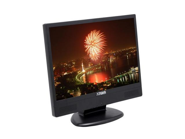 """X2GEN MW19A Black 19"""" 8ms Widescreen LCD Monitor Built-in Speakers"""