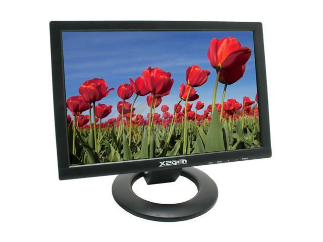 "X2GEN MW19U Black 19"" 8ms Widescreen LCD Monitor Built-in Speakers"