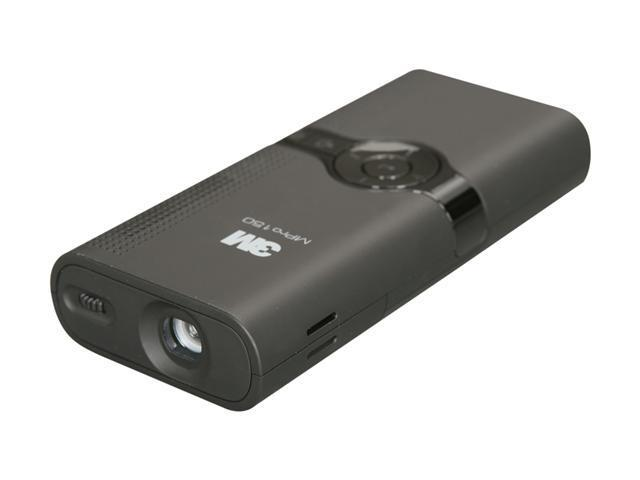 3M MPRO150 VGA  LCoS Pocket Projector Built-in Memory Card