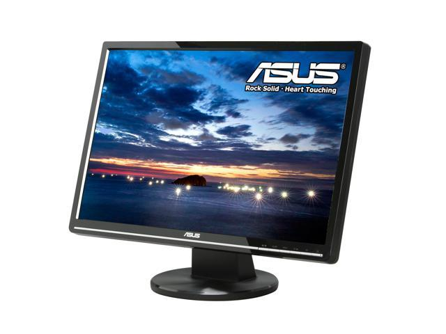 "ASUS VW224U Black 22"" 2ms(GTG) Widescreen LCD Monitor Built-in Speakers"
