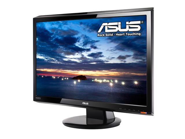 "ASUS VH202T-P Glossy Black 20"" 5ms Widescreen LCD Monitor Built-in Speakers"