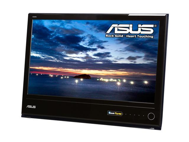 """ASUS MS238H Glossy Black / Blue 23"""" 2ms(GTG) Widescreen LED Backlight LCD Monitor"""