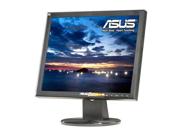 "ASUS VB175T Black 17"" 5ms LCD Monitor Built-in Speakers"