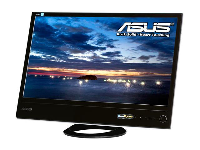 "ASUS ML248H Black / White 24"" 2ms (GTG) Widescreen LED Backlight LCD Monitor"