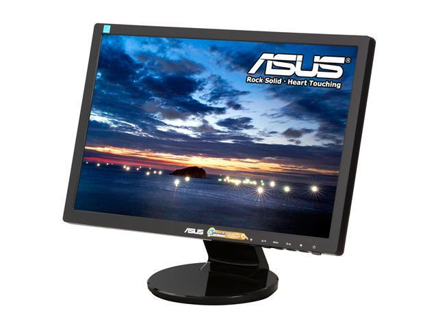 "ASUS VE198D Black 19"" 5ms Widescreen LED Backlight LCD Monitor"