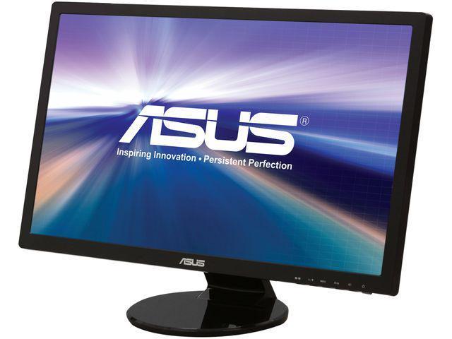 "ASUS VE Series VE258Q Black 25"" 2ms (GTG) Widescreen LED Backlight LCD Monitor Built-in Speakers"