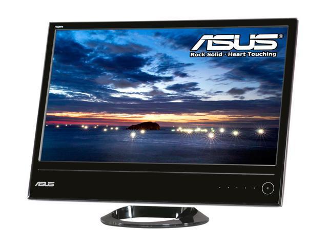 "ASUS ML228H Glossy Piano Black 21.5"" 2ms (GTG) Widescreen LED Backlight LCD Monitor"