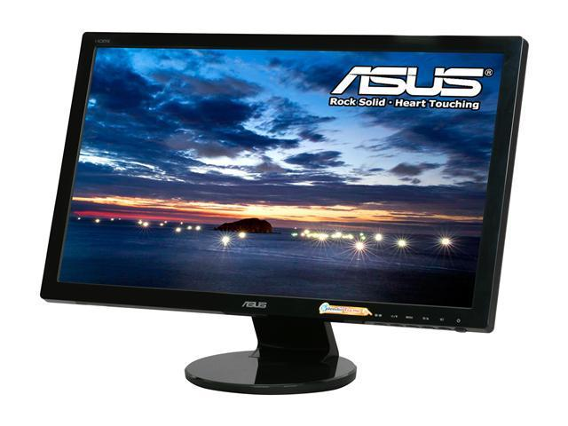 "ASUS VE247H Black 23.6"" 2ms  HDMI  LED Backlight Widescreen LCD Monitor W/ Speakers"