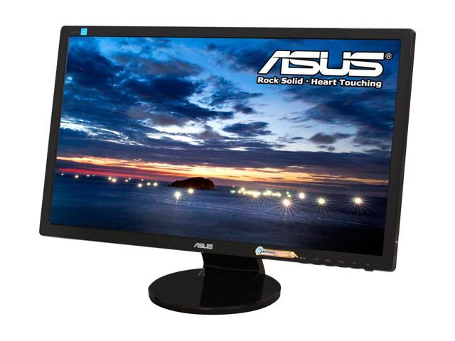 "ASUS VE249H Black 24"" 5ms Widescreen LED Backlight LCD Monitor Built-in Speakers"