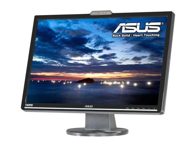 "ASUS VK222H Black 22"" 2 ms (GTG) Widescreen LCD Monitor w/Webcam Built-in Speakers"