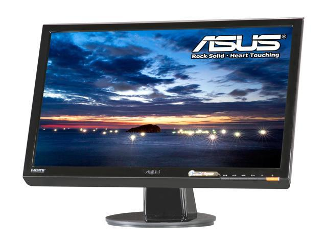 "ASUS VH238H Black 23"" 2ms (GTG) Widescreen LED Backlight LCD Monitor Built-in Speakers"