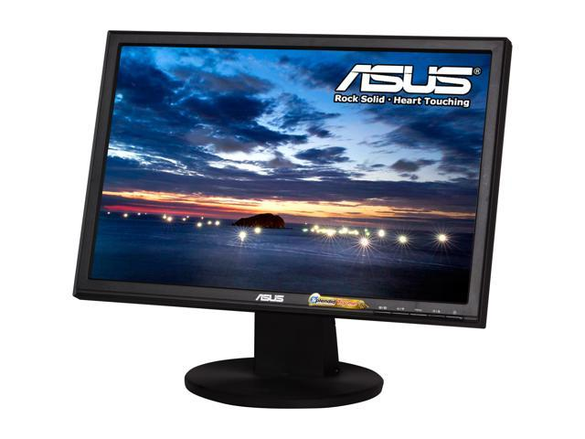 "ASUS VW Series VW199T-P Black 19"" 5ms Widescreen LED Backlight LCD Monitor Built-in Speakers"