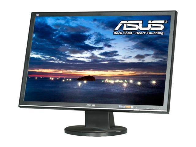 "ASUS VW225T-B Black 22"" 5ms Widescreen LCD Monitor Built-in Speakers"