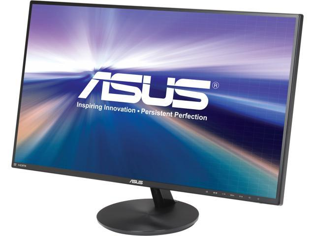 "ASUS VN279Q Black 27"" 5ms HDMI Widescreen LED Backlight Ultra Wide View Monitor"