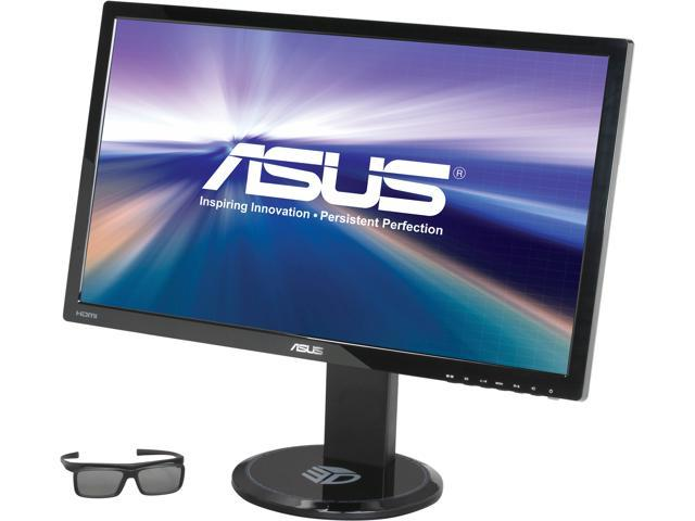 "ASUS VG27AH Black 27"" 5ms (GTG) Widescreen LED Backlight 3D IPS LED Monitor w/ 3D Glasses Built-in Speakers"