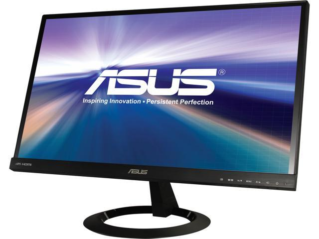 "ASUS VX229H Black 21.5"" 5ms (GTG) Widescreen LED Backlight LCD Monitor AH-IPS Built-in Speakers"