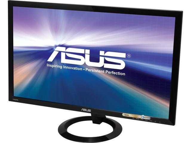 "ASUS VX248H Black 24"" 1ms (GTG) Widescreen LED Backlight LCD Monitor Built-in Speakers"