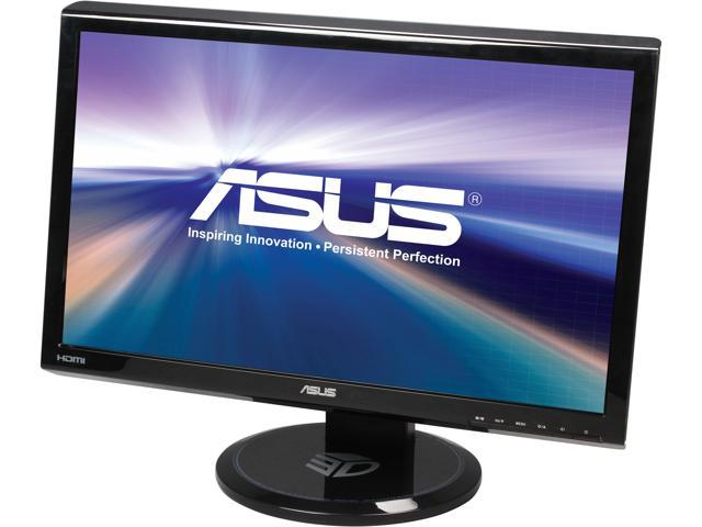"ASUS VG Series VG23AH Black 23"" 5ms Widescreen LED Backlight LCD Monitor Manufacture Recertified Built-in Speakers"
