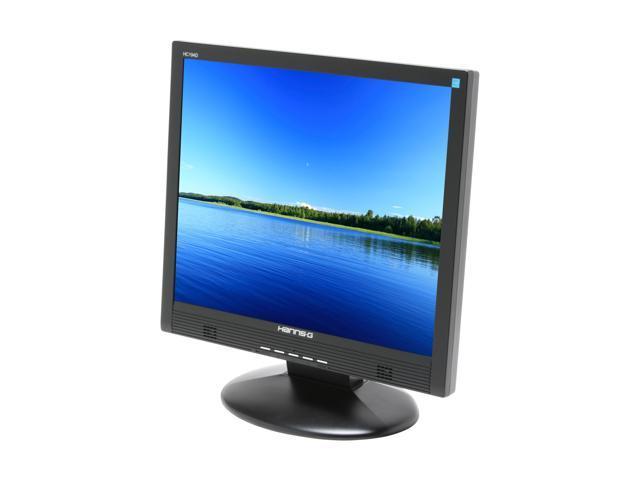 "Hanns-G HC-194D Black 19"" 8ms LCD Monitor Built-in Speakers"
