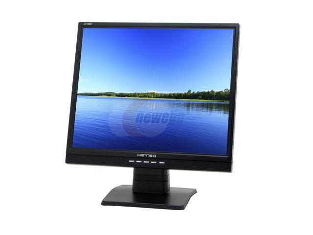 "Hanns-G JC-199DPB Black 19"" 8ms LCD Monitor Built-in Speakers"