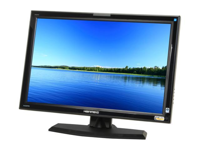 "Hanns-G HG-281DJB Black 27.5"" 3ms with X-Celerate Technology Widescreen LCD Monitor with Height Adjustment Built-in Speakers"