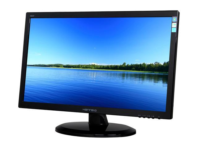 "Hanns-G HE247DPB Black 23.6"" 5ms Widescreen LED Backlight LCD Monitor Built-in Speakers"