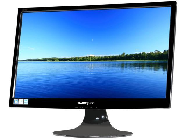 "HANNspree By Hanns-G HF225DPB Black 21.5"" 5ms Widescreen LCD Monitor Built-in Speakers"