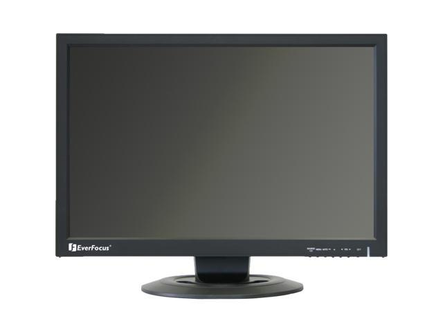 "EverFocus 22"" 5ms LCD Monitor Built-in Speakers"