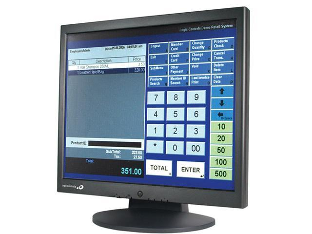 "Logic Controls LE1017 17"" LCD Touchscreen Monitor - 8 ms"