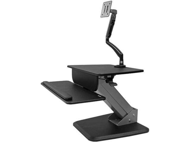 StarTech BNDSTSSLIM Sit-to-stand Workstation with full-motion Articulating Monitor Arm  Maximum height adjustment 16.6