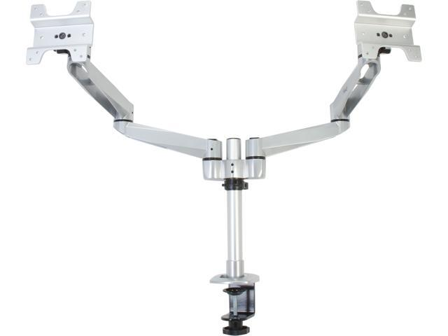 "Rosewill RHMS-13002 - Dual Swivel Swing Arm - Fits 13 - 27"" VESA LCD Monitor or Apple 27"" Cinema Display"