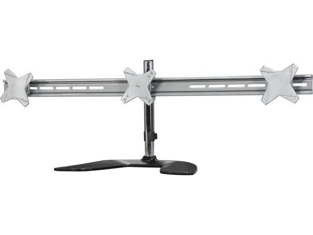 Desk Stand 3 Triple Tilt Rotate Arms 13-23 LCD LED Monitor Rosewill