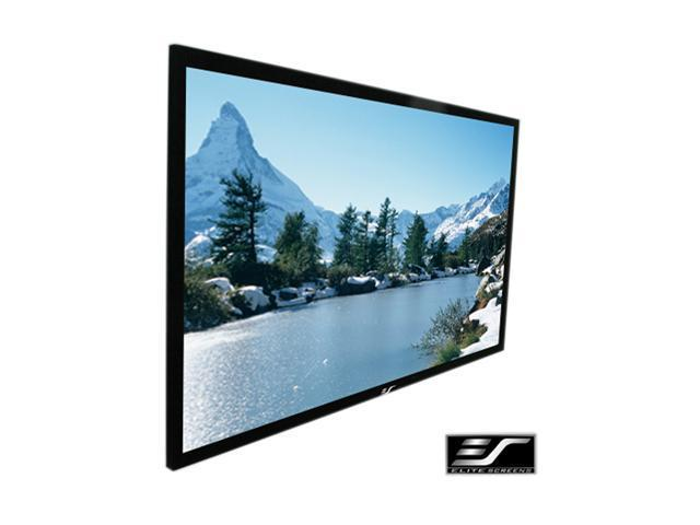 Elite Screens Inc. ez-Frame Series Fixed Frame Screen R100WH1