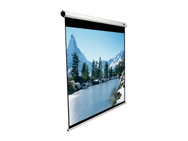 "Elitescreens 80"" NTSC/Video(4:3) Manual Manual Ceiling/Wall Mount Manual Pull Down Projection Screen (80"" 4:3 AR) (MaxWhite) ..."