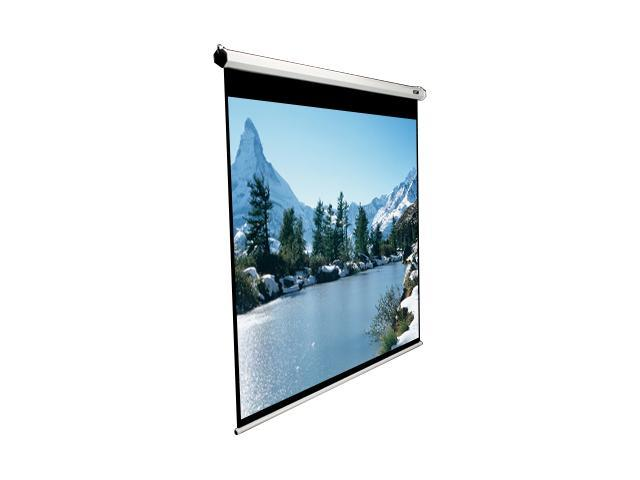 Elitescreens Manual Ceiling/Wall Mount Manual Pull Down Projection Screen (84