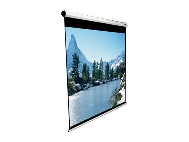 "Elitescreens 100"" NTSC/Video(4:3) Manual Manual Ceiling/Wall Mount Manual Pull Down Projection Screen (100"" 4:3 AR) (MaxWhite) ..."