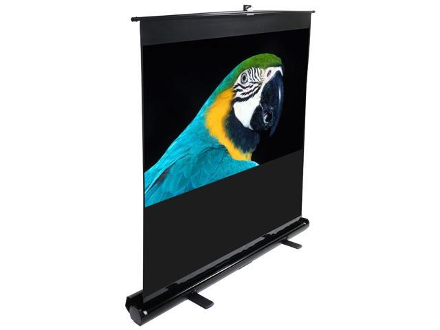 Elitescreens ezCinema Portable Floor Set Manual Projection Screen (84